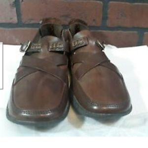 Timberland Brown Womens Buckle Loafers 6 M